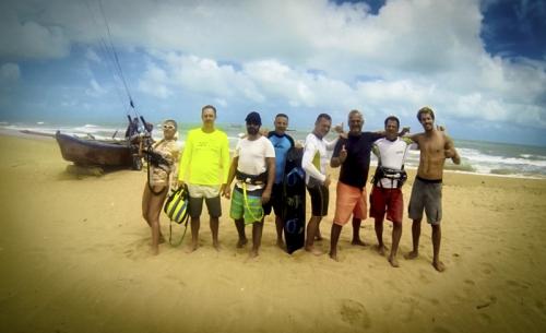 Brazil kitesurf camp