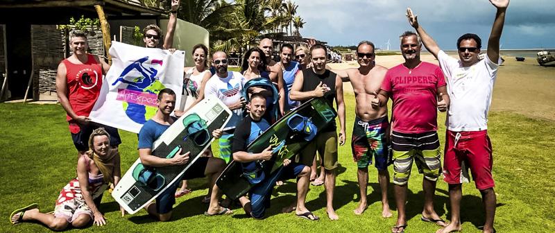 Brazil kiteszörf túra 2017