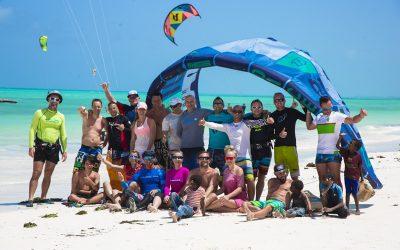 Zanzibar kitesurf camp 2017.
