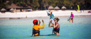 Zanzibar kitesurfing holiday