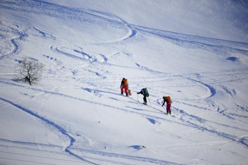 snowkite norvégia