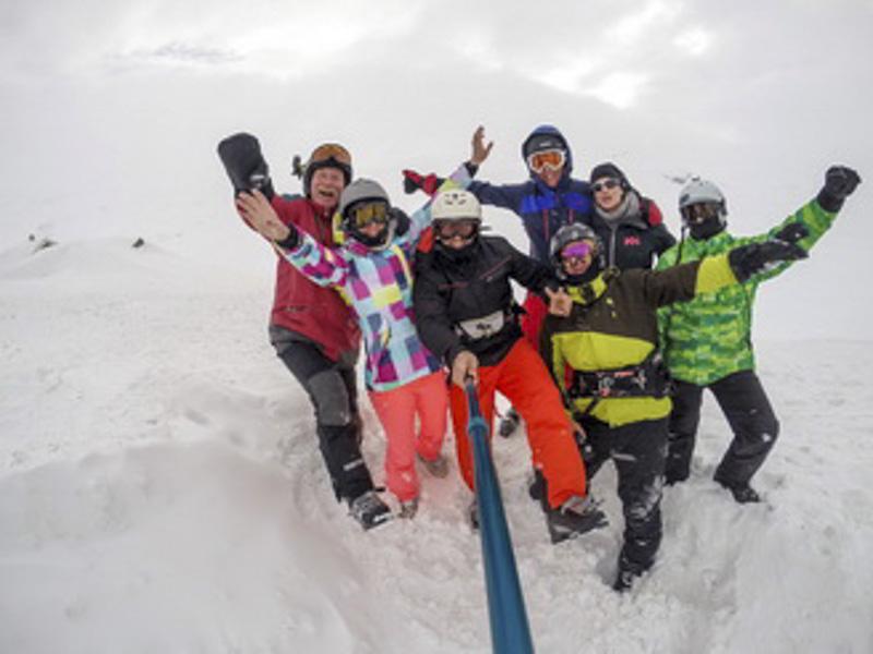 Snowkite in Norway (March, 2016.)