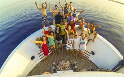 Egyiptom hajós kitesurf túra 2015. április