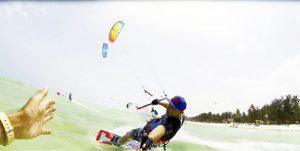 Zanzibár kitesurf oktatás