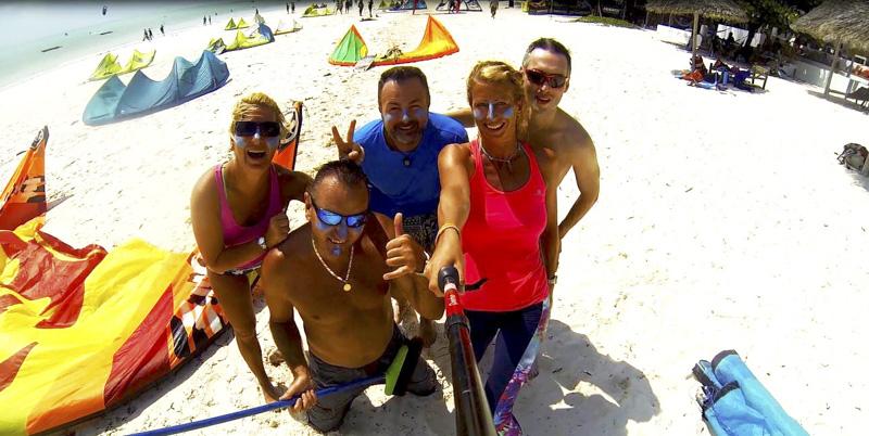 Zanzibar kite camp 2016.