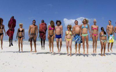 Zanzibar first kitesurf holiday 2014.