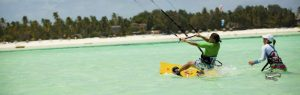 Zanzibár kiteszörf tanfolyam utazás