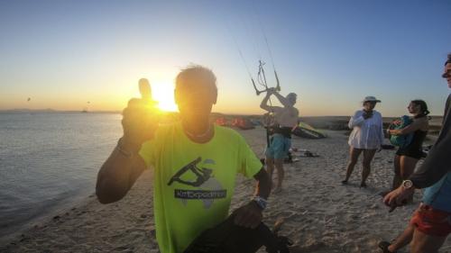 Egypt kitesurf
