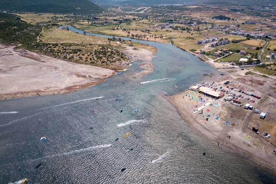 Urla Lagoon, Turkey July, 2020