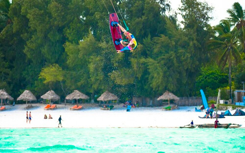 Kitesurfing Zanzibar 2020