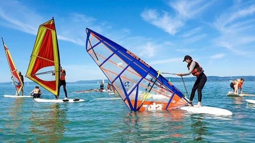 szörfoktatás Balaton
